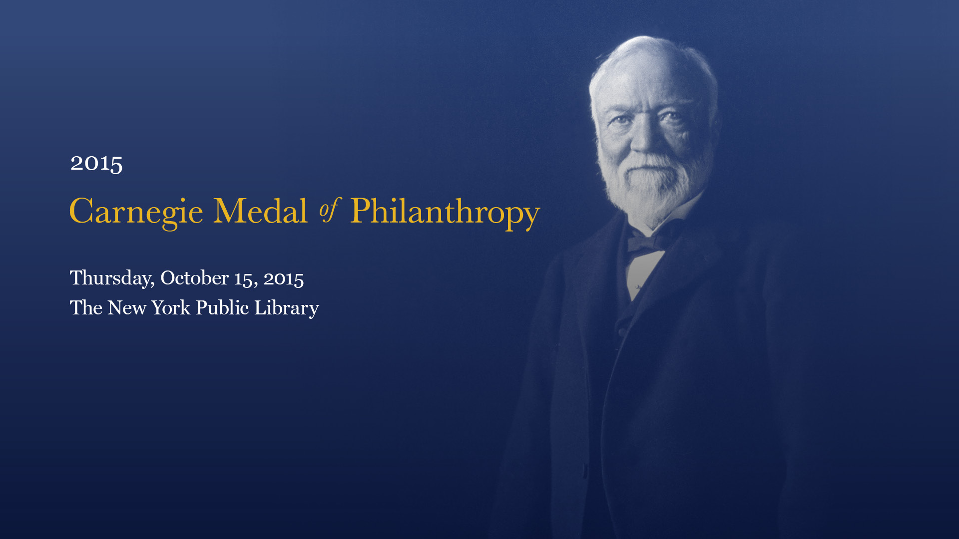 interactives corporation of new york andrew medal of philanthropy
