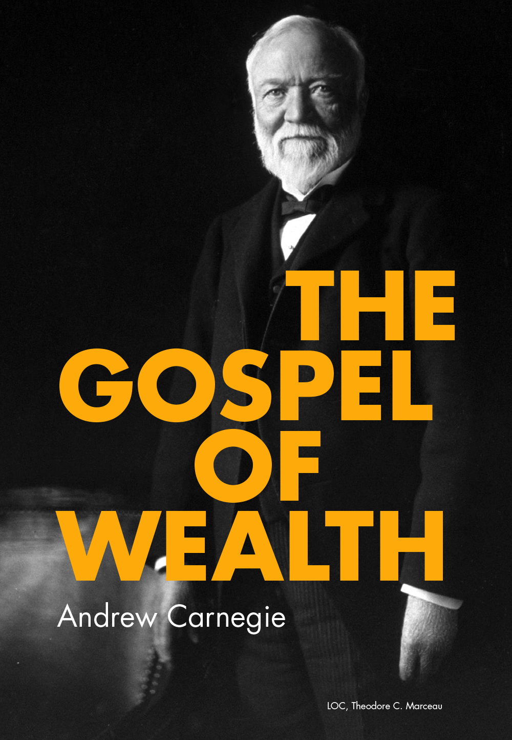 an overview of andrew carnegies preaches of the gospel of wealth Andrew carnegie and the gospel of wealth andrew carnegie had a different interpretation of how to deal with the just an overview archives may 2014 april.