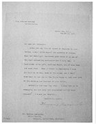 Letter from President Theodore Roosevelt to Andrew Carnegie