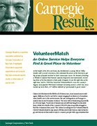 VolunteerMatch: An Online Service Helps Everyone Find A Great Place to Volunteer