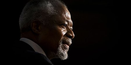 Kofi Annan: 1938–2018