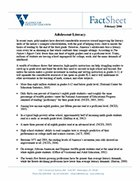 Adolescent Literacy Fact Sheet