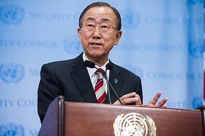 Secretary-General Ban Ki-moon. UN Photo/Amanda Voisard (file)