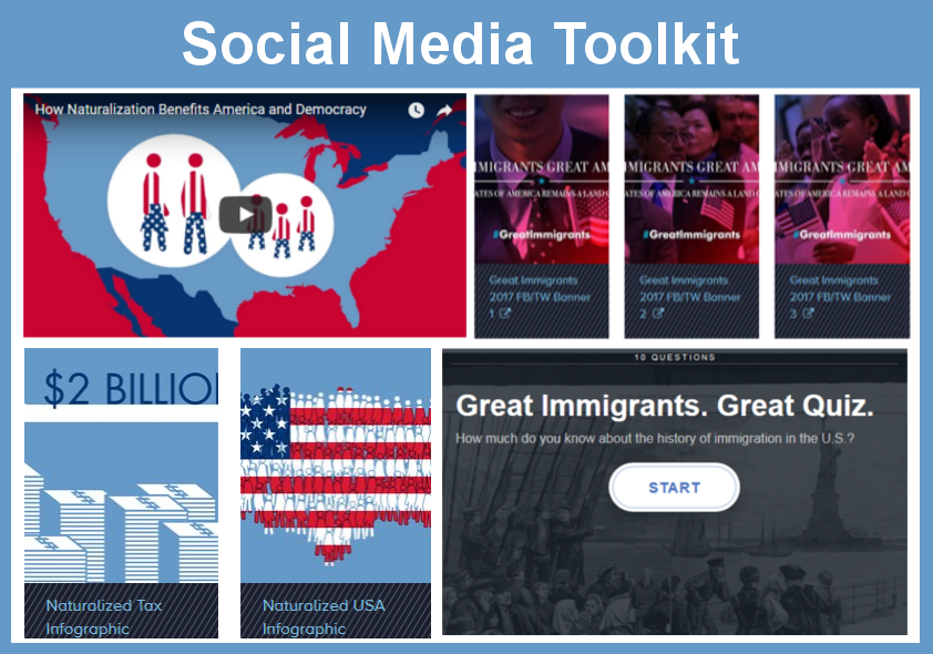 Great Immigrants Social Media Toolkit