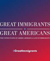 2018 Great Immigrants Great Americans Banner - Instagram Banner 1