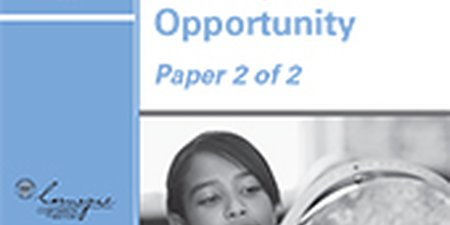 Next Generation Learning: Scaling the Opportunity