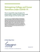 Reimagining College and Career Transitions under COVID-19