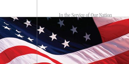 In the Service of Our Nation