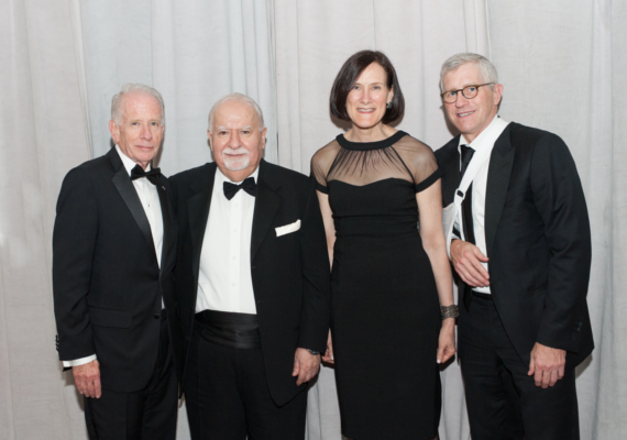 The IIE Gala honored Vartan Gregorian, president of Carnegie Corporation of New York, for his lifelong commitment to philanthropy and education.