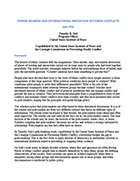 Power Sharing and International Mediation in Ethnic Conflicts