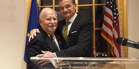 France Honors President Vartan Gregorian