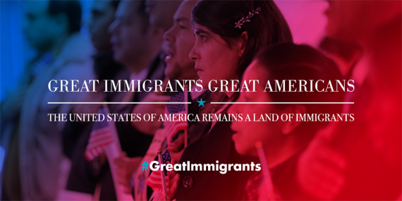 Great Immigrants Initiative Banner