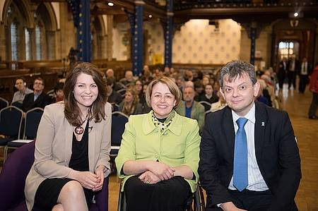 Heather Reid, Baroness Tanni Grey-Thompson, Anton Muscatelli