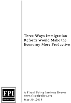 Three Ways Immigration Reform Would Make the Economy More Productive