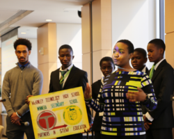 US-Ghanaian Teens Team Up for STEM Competition