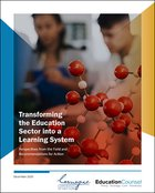 Transforming the Education Sector into a Learning System: Perspectives from the Field and Recommendations