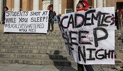 Cape Town Universities Shut Down Amid Protests