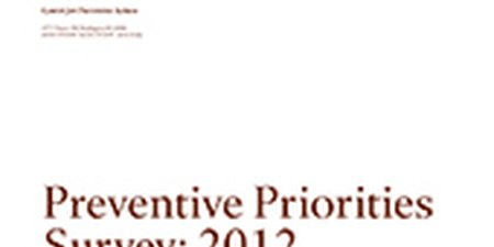 Preventive Priorities Survey