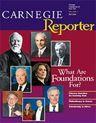 Carnegie Reporter Vol. 3/No. 1