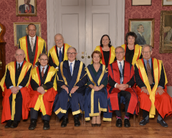 King's College London Confers Honorary Degrees Upon Seven Distinguished Recipients