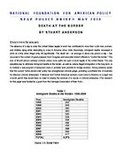 Death at the Border. Foundation For American Policy Brief