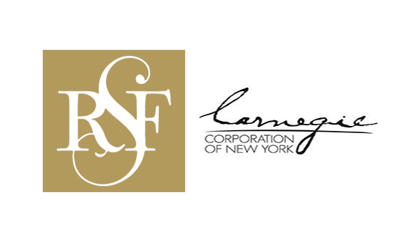Russel Sage Foundation and Carnegie Corporation of New York logos