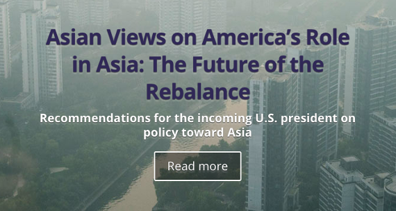 Asia Foundation Report: Asian Views on America's Role in Asia