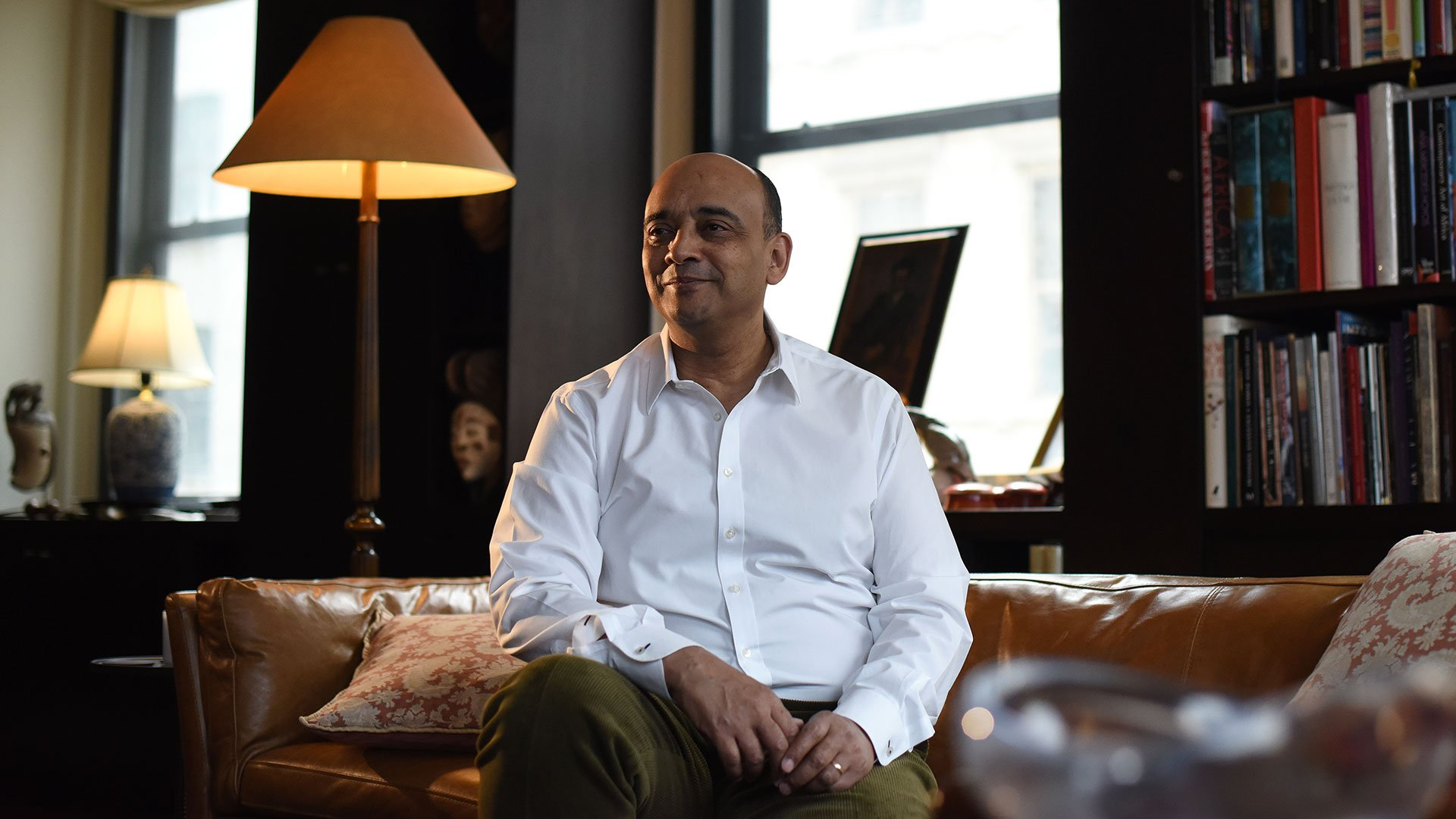 Kwame Anthony Appiah at his Tribeca home (2)