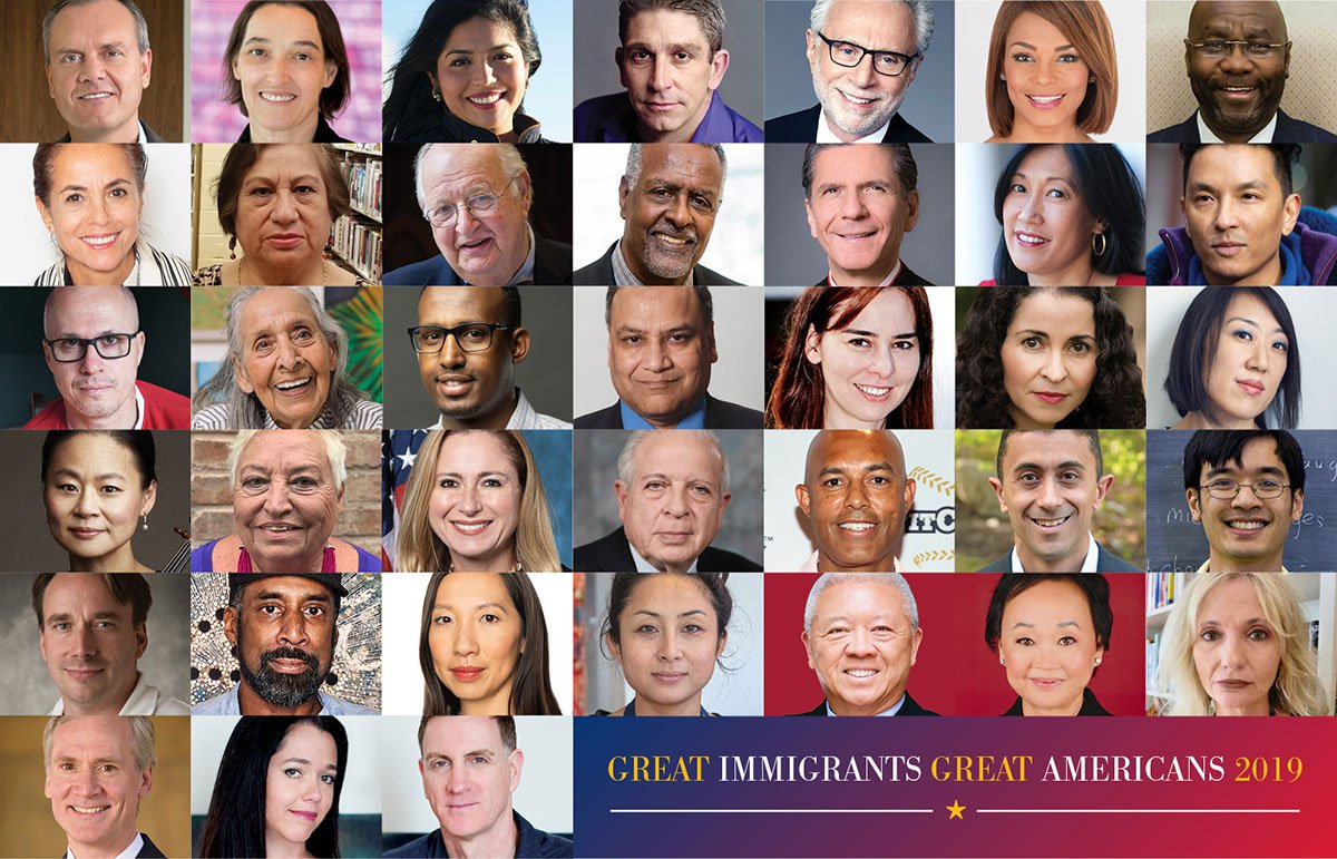 July Fourth Tribute Honors 38 Distinguished Immigrants