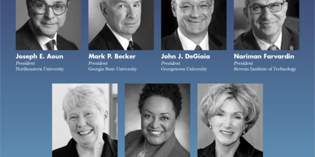 Academic Leadership Award Recognizes Seven University Presidents
