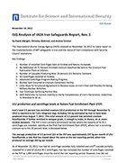 ISIS Analysis of IAEA Iran Safeguards Report, Rev. 1